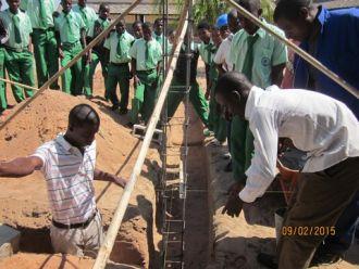 Escuela profesional agropecuaria de Netia, Mozambique
