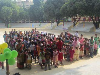 Manos Unidas - Programa educativo para niños de la calle en la India