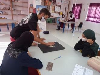 Aula secundaria en Tetuán. Marruecos. Foto: Manos Unidas