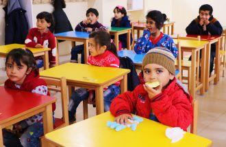 Educación para niños refugiados sirios e iraquíes