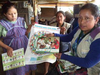 Mujeres en comunidades q´eqchís