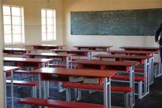 aula, escuela, secundaria, rural