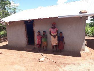 Comida y casa para la población de Netia. Fotos: Manos Unidas