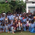 Centro educativo para niños tribales