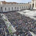 Diversos momentos de la Audiencia. Foto: Vatican News