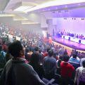 Aspecto de la sala en la que tuvo lugar el acto oficial de cierre de connvenio. Foto OTC Ecuador