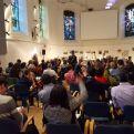 Debate Plenario en el Foro de Cambio Sistémico. Foto Marta Isabel González/Manos Unidas