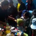 Beneficiarios de algunos proyectos financiados por Manos Unidas. Foto Cáritas Huancayo
