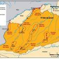 Mapa de localización del Valle del Javari en Brasil