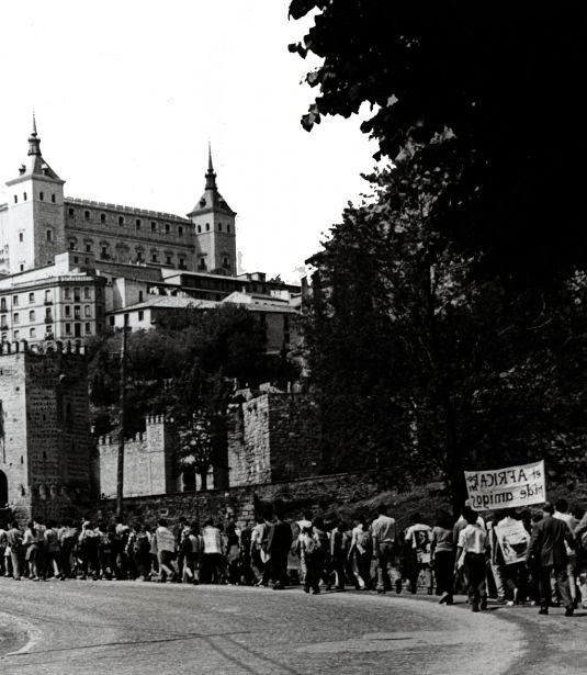 La Marcha Mundial de la Solidaridad se celebró en España en Toledo
