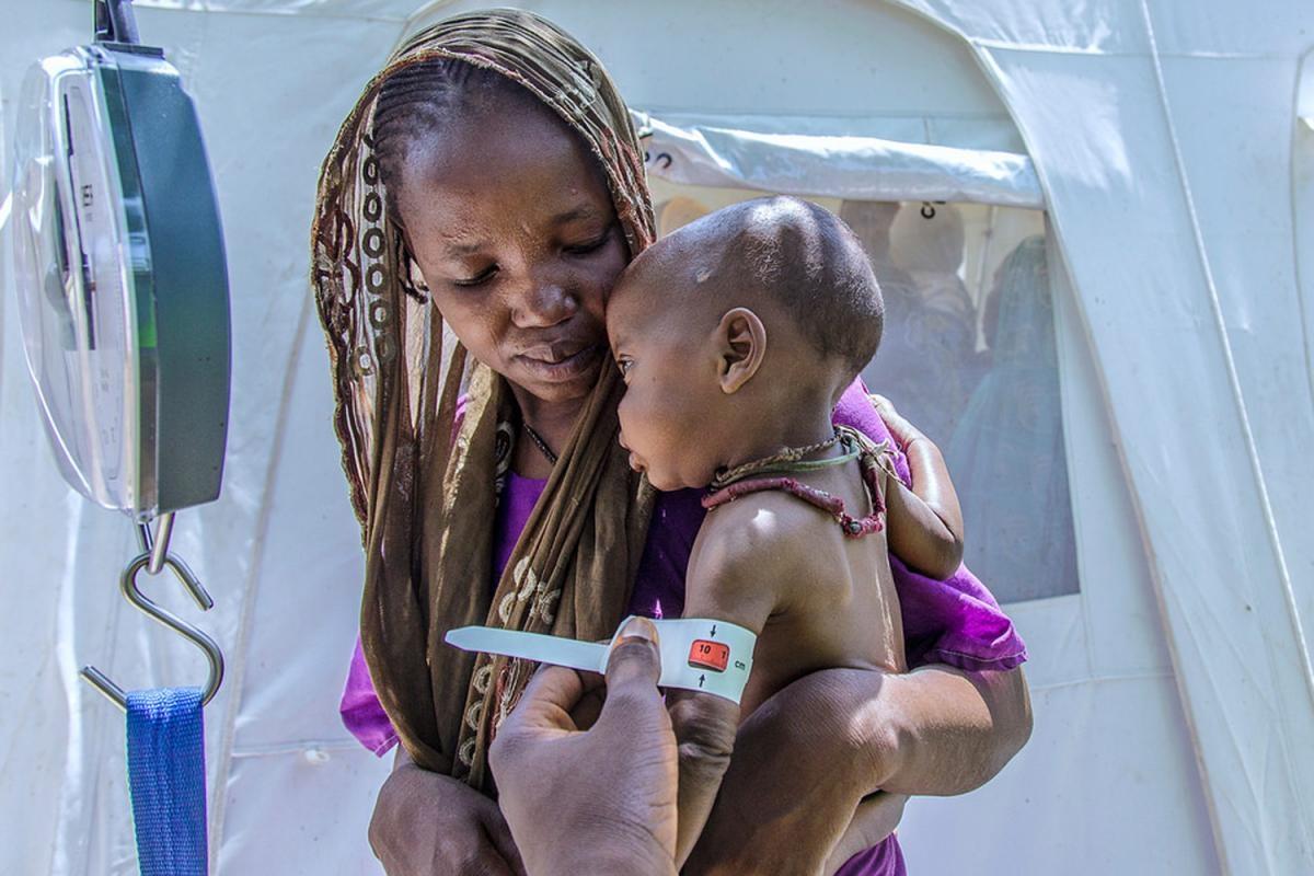 L'estat de la fam a Nigèria (Foto d'UNICEF)