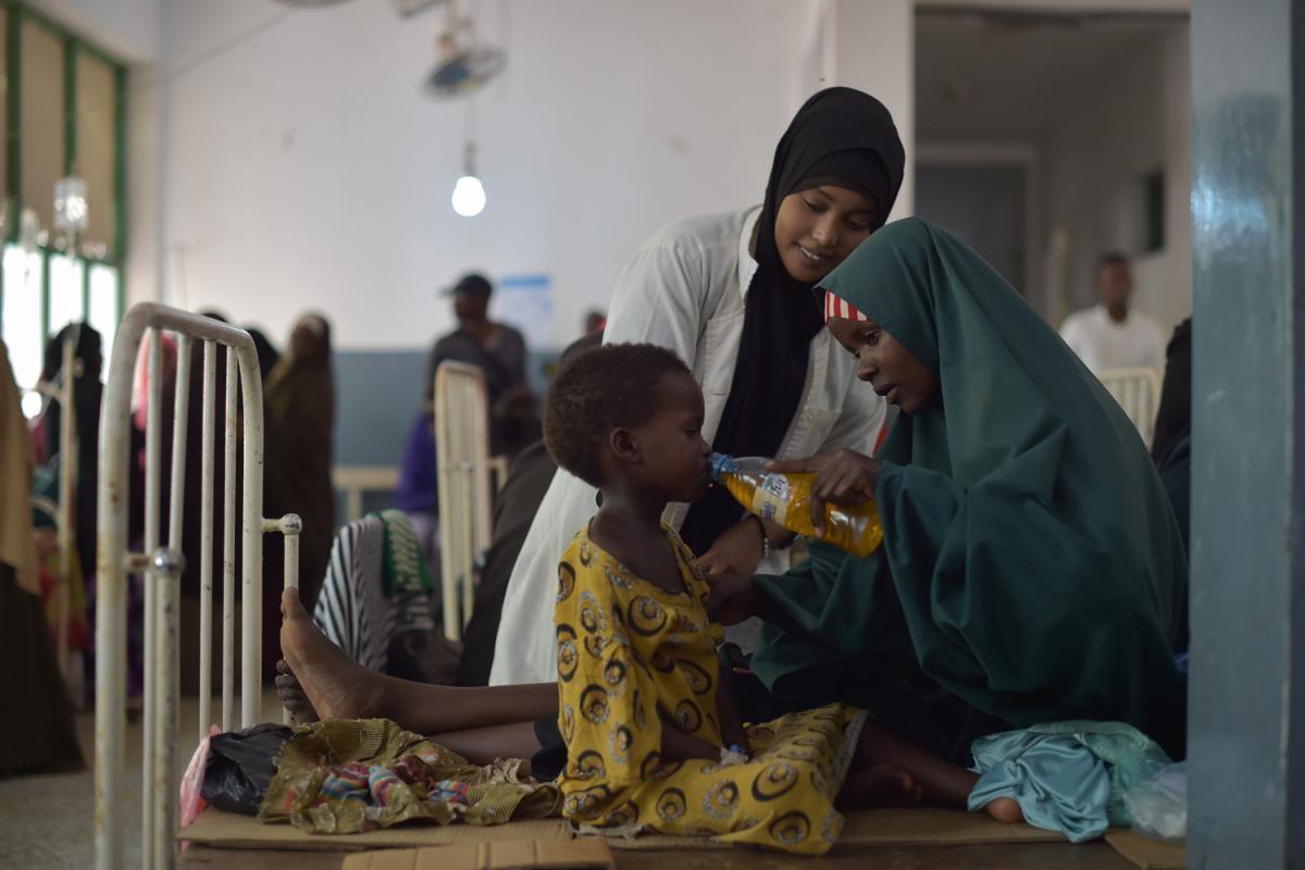 L'estat de la fam a Somàlia