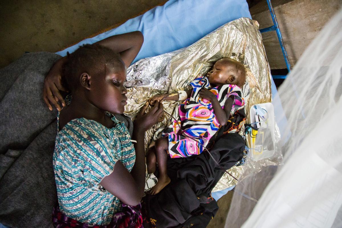L'estat de la fam a Sudan del Sud (Foto de DFID)
