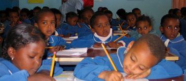 Colegio de primaria de Adigrat, Etiopía
