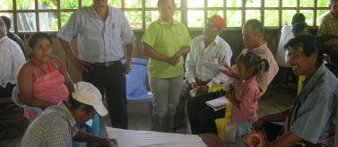 Desarrollo local para comunidades rurales vulnerables. Foto: Manos Unidas