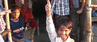 Rescate y rehabilitación de niños trabajadores de la estación de tren de Varanasi