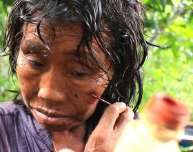 Dona indígena de l'Orinòquia colombiana