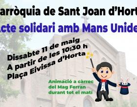 Festa de la Parròquia Sant Joan d'Horta a favor de Mans Unides