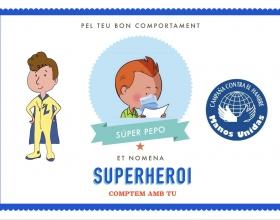 Diplomes de superheroi per als alumnes