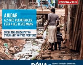 COVID-19: campanya d'emergència sanitària