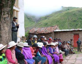 Bolivia 2013 - Proyecto Manos Unidas AECID