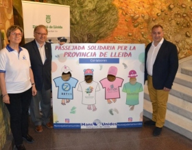 Mans Unides passejarà per 10 municipis de Lleida el 7 d'abril