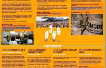 """Exposició """"Emergència pandèmia Covid-19 als països del Sud"""""""