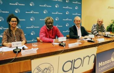 Mesa redonda: Hambre, violencia y cambio climático: el caso de Haití. Foto: Javier Mármol