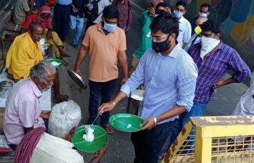 Coronavirus en India, nuestro socios locales responden
