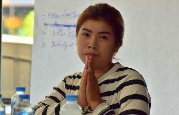 Formación de mujeres contra la trata en Champassak (Laos). Foto de Manos Unidas