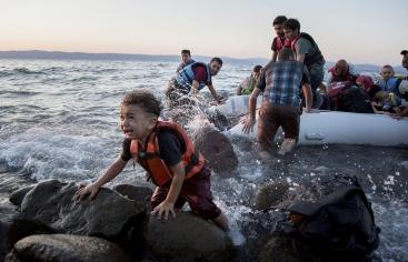 Les polítiques migratòries d'Europa afecten els drets humans (Foto d'Andrew Mcconnell)