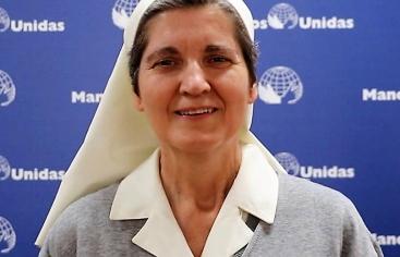 Hermana Rosario. Trabajo con mujeres Burkina Faso