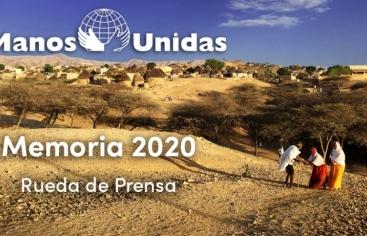 Roda de premsa de presentació de la Memòria 2020 de Mans Unides
