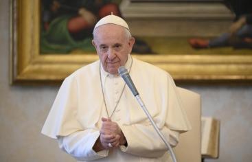 Jornada Oración por la Humanidad. Papa Francisco. Foto: Servicio Fotografico Vaticano