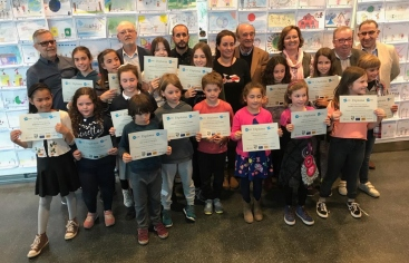 Lliurament dels premis del IX Concurs de Dibuix infantil del gOvi
