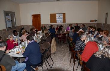 Participants al sopar de la fam a Magraners