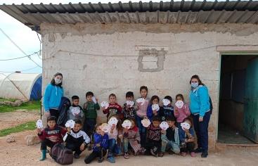 Deu anys de guerra a Síria Foto: Maristes Blaus/Mans Unides