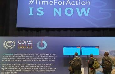 Voluntaris de mans Unides Barcelona a la COP25