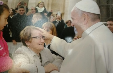 El Papa reb a membres de Mans Unides