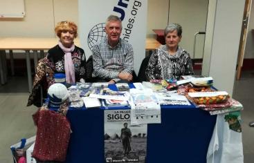 Mans Unides participa al Mercat solidari de l'ICAB
