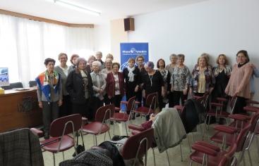 Trobada amb les comarcals de Mans Unides a Lleida