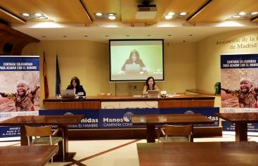 Presentació de la Campanya de Mans Unides. Foto: Javier Mármol / Mans Unides
