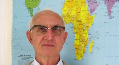 """Padre Jesús Jimeno, miembro de los """"Misioneros de África"""""""