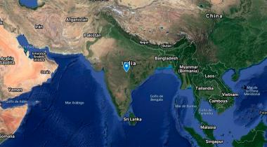 Mapa de los proyectos de emergencia contra el coronavirus en Asia