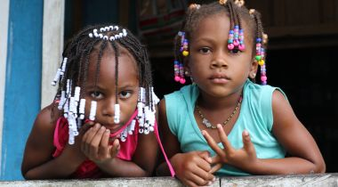 Comunidad de La Villa, en el departamento de Chocó. Colombia. Foto: Manos Unidas/María José Pérez