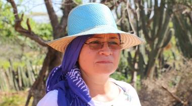 Ruth Chaparro. La Guajira. Colombia. Foto: Manos Unidas/María José Pérez