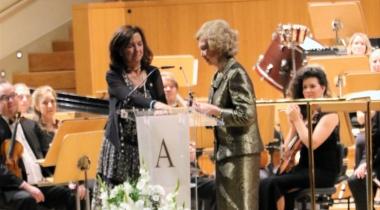 Concierto Auditorio Nacional. Premio Extraordinario Reina Sofía 60 aniversario Manos Unidas. Foto: Manos Unidas/Irene San Juan