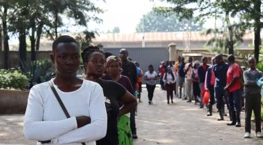 Emergencia coronavirus. Foto: Mukuru Promotion Centre (Kenia)/Manos Unidas