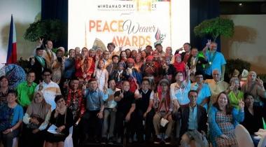 Foto Manos Unidas - Premios Tejedores de Paz