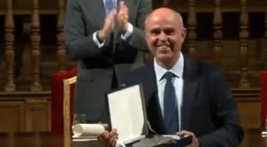 Patricio Larrosa - Premio de Derechos Humanos Rey de España - Foto ACOES